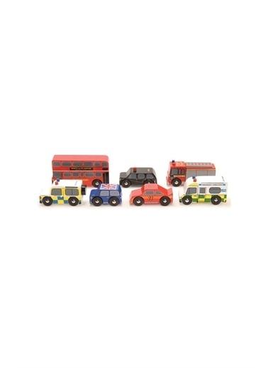 Le Toy Van Le Toy Van Londra Araba Seti Beyaz